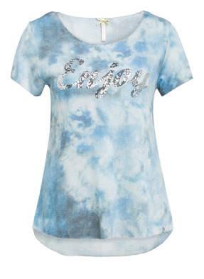 KEY LARGO T-Shirt mit Paillettenbesatz