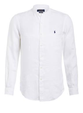 POLO RALPH LAUREN Leinenhemd Slim Fit mit Stehkragen
