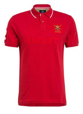 HACKETT LONDON Piqué-Poloshirt ARMY Classic Fit