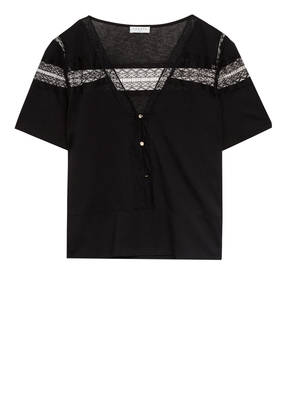 sandro Blusenshirt mit Spitze