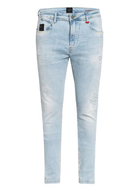 ER ELIAS RUMELIS Destroyed Jeans Slim Tapered Fit
