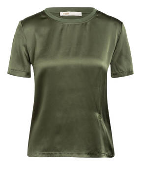 maje T-Shirt TANK im Materialmix