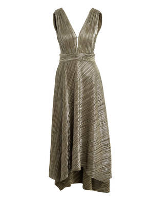 maje Kleid ROYAL mit Glitzergarn