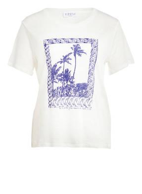 CLAUDIE PIERLOT T-Shirt TOSCANE aus Leinen