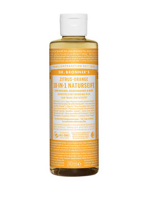 DR. BRONNER'S 18-IN-1 NATURSEIFE ZITRUS-ORANGE