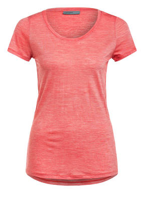 icebreaker T-Shirt SPHERE SCOOP mit Merinowolle-Anteil