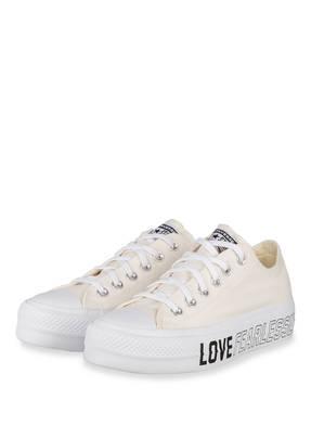 CONVERSE Plateau-Sneaker LOVE FEARLESSLY PLATFORM CHUCK TAYLOR ALL STAR