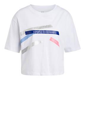 ARMANI EXCHANGE Cropped-Shirt