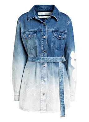 OFF-WHITE Jeans-Hemdblusenkleid