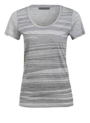 icebreaker T-Shirt BLIZZARD aus Merinowolle