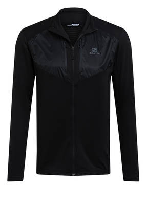 SALOMON Fleecejacke GRID FZ MID