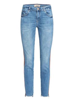 MOS MOSH Skinny Jeans SUMNER FAITH mit Pailettenbesatz