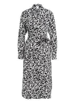 BOSS Hemdblusenkleid CALLURA aus Seide