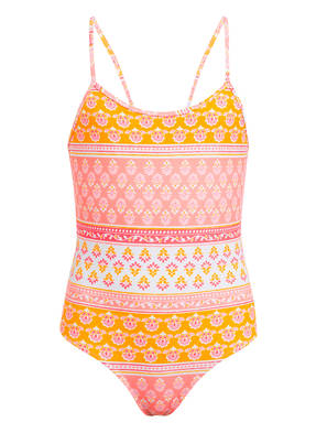 SUNUVA Badeanzug PINK BLOCK mit UV-Schutz 50+