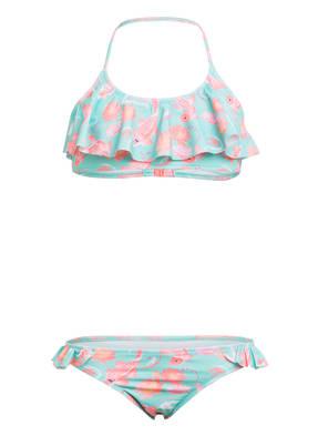 SUNUVA Bustier-Bikini AQUA KOI CARP mit UV-Schutz 50+