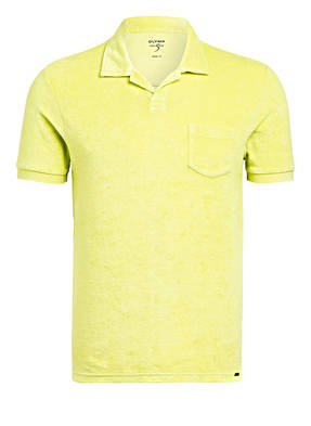 OLYMP Frottee-Poloshirt Body Fit