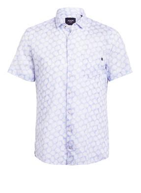 JOOP! JEANS Halbarm-Hemd mit Leinen Slim Fit