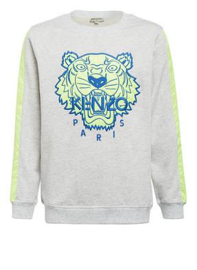 KENZO Sweatshirt TIGER mit Galonstreifen