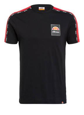 ellesse T-Shirt SERCHIO mit Galonstreifen