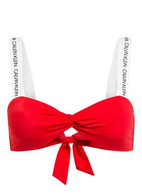 Calvin Klein Bandeau-Bikini-Top CK LOGO
