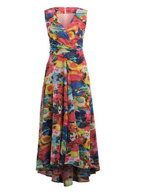 TALBOT RUNHOF Kleid in Wickeloptik mit Glitzergarn
