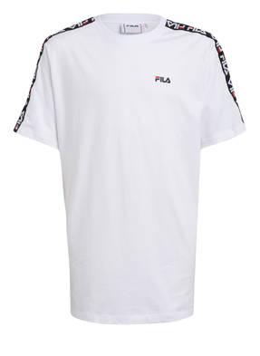 FILA T-Shirt mit Galonstreifen