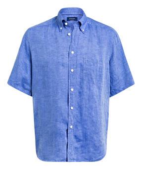ETON Halbarm-Hemd Regular Fit aus Leinen