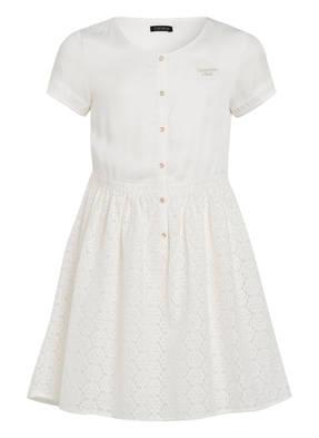 IKKS Kleid mit Spitzenbesatz