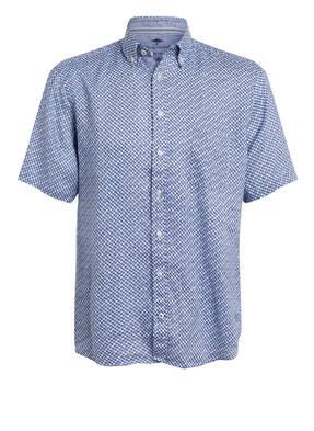 FYNCH-HATTON Halbarm-Hemd Slim Fit aus Leinen