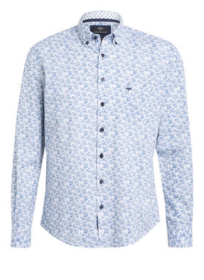FYNCH-HATTON Hemd Casual Fit mit Leinen