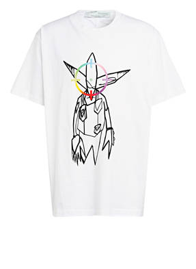 OFF-WHITE T-Shirt FUTURA ALIEN