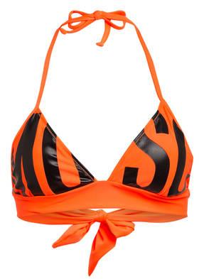 MOSCHINO Triangel-Bikini-Top