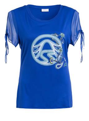 SPORTALM T-Shirt mit Schmucksteinbesatz