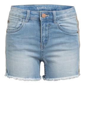 GARCIA Jeans-Shorts RIANNA Slim Fit mit Galonstreifen