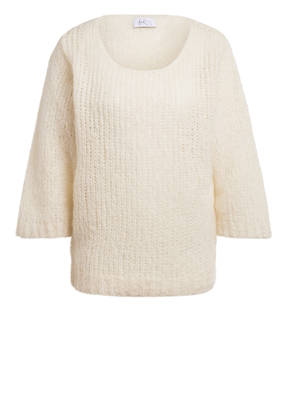 heart MIND Oversized-Pullover mit 3/4-Arm