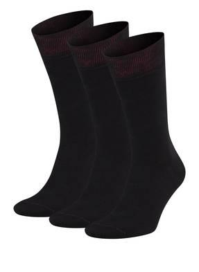 VON Jungfeld 3er-Pack Socken 3 TAGE UNTERTAGE