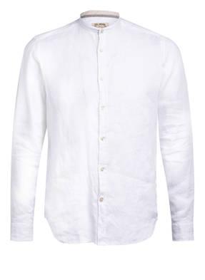 FIL NOIR Leinenhemd ANCONA Slim Fit mit Stehkragen