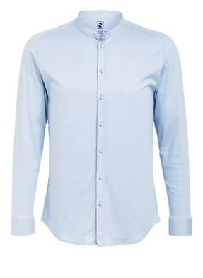 DESOTO Jerseyhemd STAND-UP Slim Fit mit Stehkragen
