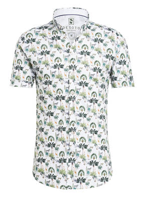 DESOTO Halbarm-Jerseyhemd MODERN Extra Slim Fit
