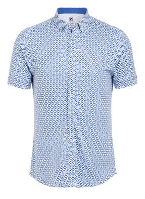 DESOTO Halbarm-Jerseyhemd Extra Slim Fit