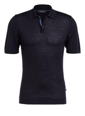 MAERZ MUENCHEN Strick-Poloshirt aus Merinowolle