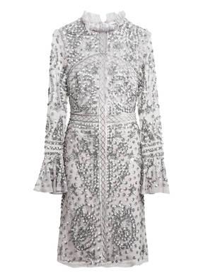 frock & frill Kleid mit Pailletten- und Perlenbesatz