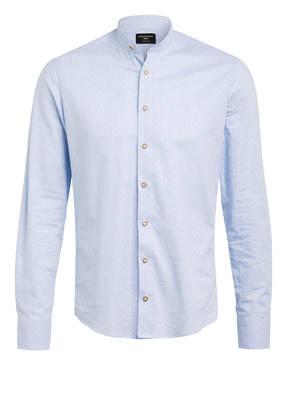 CocoVero Trachtenhemd FINLEY Slim Fit mit Stehkragen