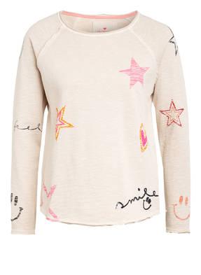 LIEBLINGSSTÜCK Sweatshirt mit Paillettenbesatz