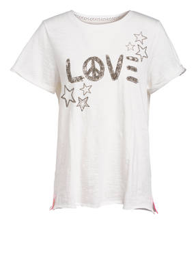 LIEBLINGSSTÜCK Oversized-Shirt DRUANA mit Schmucksteinbesatz