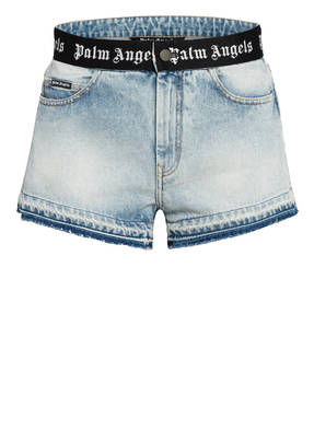 Palm Angels Destroyed Jeans-Shorts