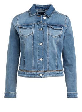 comma Jeans-Jacke mit Schmucksteinbesatz