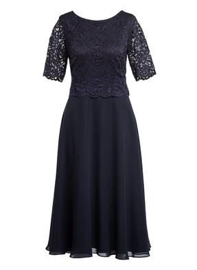 Vera Mont Kleid mit Spitzenbesatz