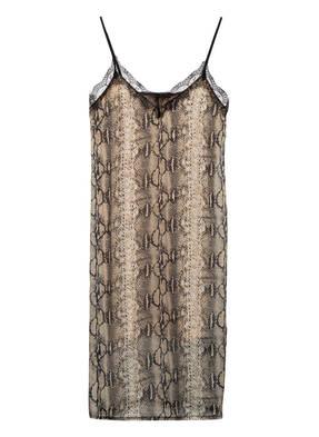 SET Kleid mit Spitzenbesatz