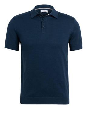 PAUL Strick-Poloshirt